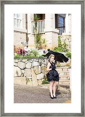 Rainy Day Weather Forecast Framed Print by Jorgo Photography - Wall Art Gallery