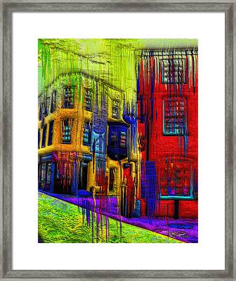 Rainy Days And Mondays Framed Print