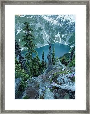 Rainy Lake Framed Print