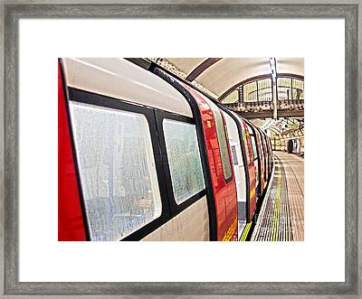 Rainy London Day Framed Print