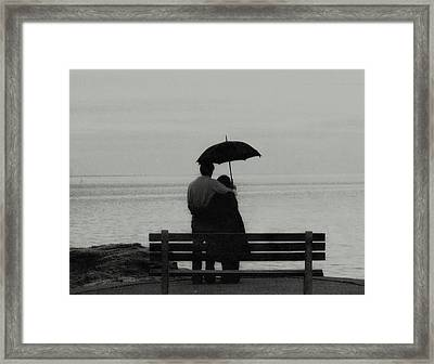 Framed Print featuring the photograph Rainy May  by John Scates