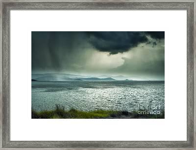 Rainy Mood Framed Print