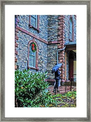 Rainy Sunday Framed Print