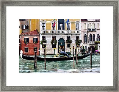 Rainy Venice Framed Print