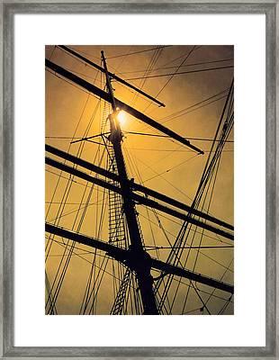 Raise The Sails Framed Print