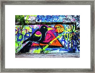 Raise Up Framed Print