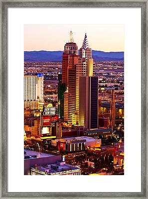 Raising Above The Desert Framed Print by James Marvin Phelps