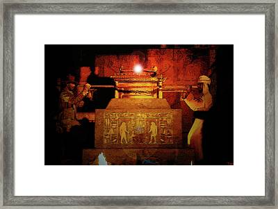 Raising The Ark Framed Print by David Lee Thompson