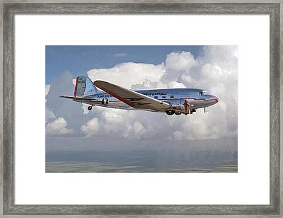 Raising The Bar Framed Print