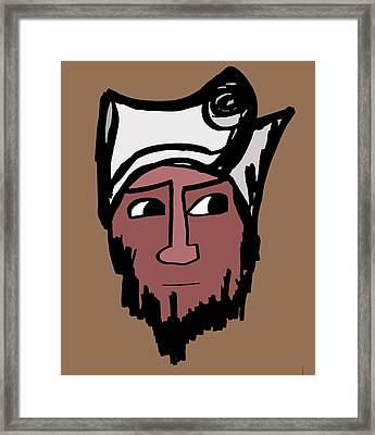 Rajib Framed Print by Jera Sky