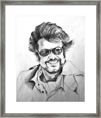 Rajnikanth Framed Print by ilendra Vyas