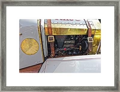 Rajo Engine Framed Print