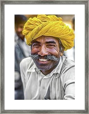 Rajput High School Teacher Framed Print by Steve Harrington