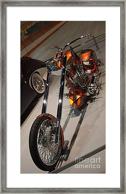 Raked Fork Chopper...   # Framed Print by Rob Luzier