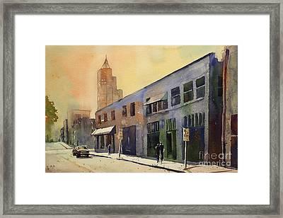 Raleigh Art District Framed Print by Ryan Fox