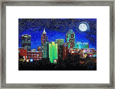 Raleigh In Winter Framed Print