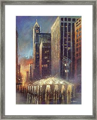 Raleigh With Symphony Tent Framed Print