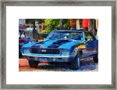 Rally Sport Framed Print