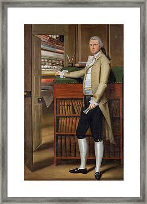 Elijah Boardman Framed Print by Ralph Earl
