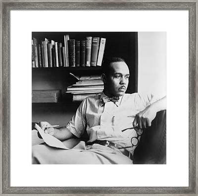 Ralph Ellison 1914-1994, Author Framed Print
