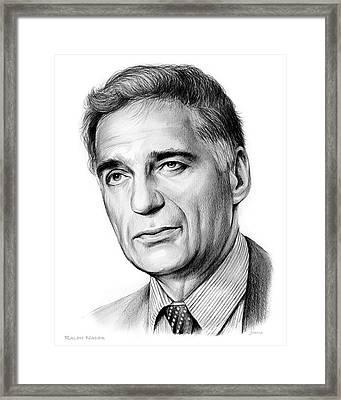 Ralph Nader Framed Print