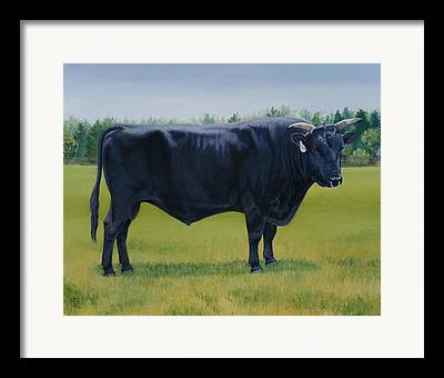 Wagyu Beef Framed Prints