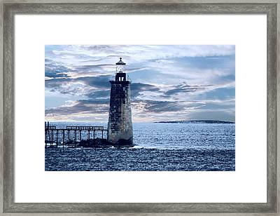 Ram Island Head Lighthouse.jpg Framed Print