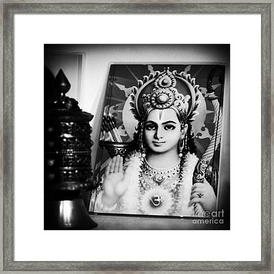 Rama  Framed Print by Sharon Mau