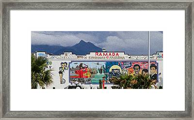 Ramada Kingman Arizona Framed Print
