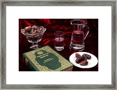 Ramadan Evening Framed Print