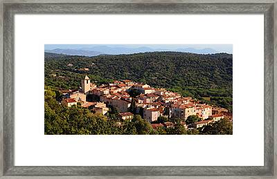 Ramatuelle Framed Print by Richard Patmore
