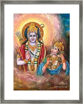 Ramayanam Sundarakandam Framed Print