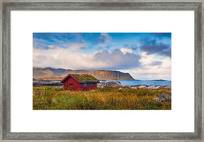 Ramberg Hut Framed Print