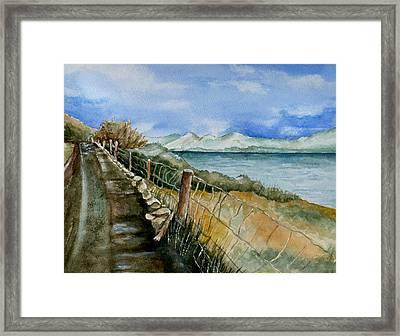 Rambling Walk Framed Print by Brenda Owen