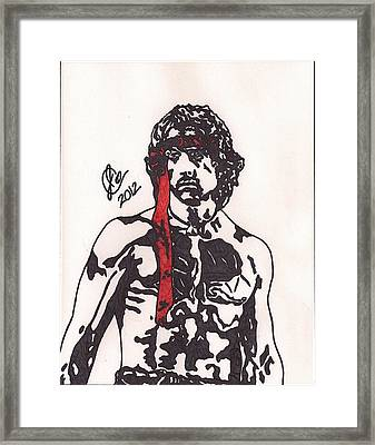 Rambo First Blood Part II Framed Print