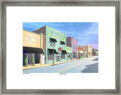 Ramcat North Framed Print