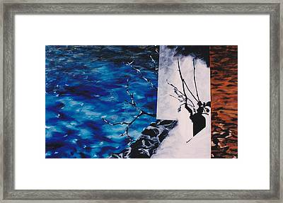 Ramification Framed Print by Hatin Josee