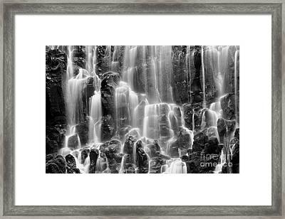 Ramona Falls Close-up Framed Print