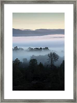 Ramona Landscape Layers Framed Print by William Dunigan