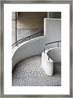 Ramp Entrance Framed Print by Tom Gowanlock