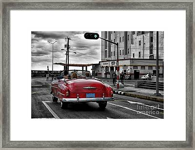 Rampa Havana Framed Print