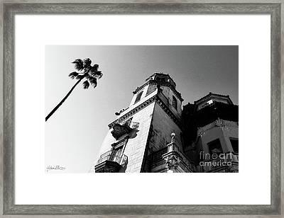 California Castle Framed Print
