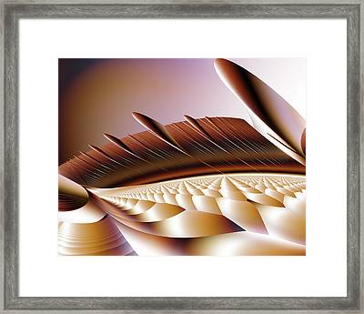 Ramparts Framed Print by Vic Eberly