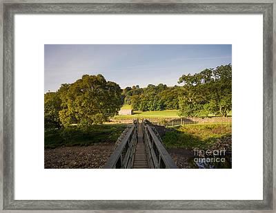 Rampsdowne Bridge Framed Print by Nichola Denny