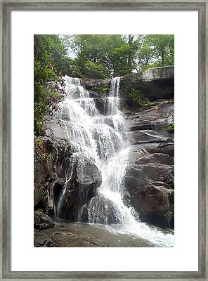 Ramsay Cascade Smoky Mountains National Park Framed Print