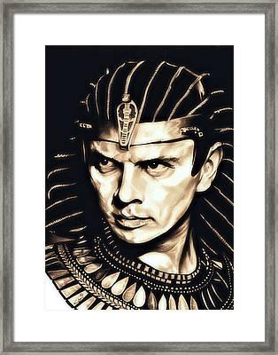 Ramses II Framed Print by Fred Larucci