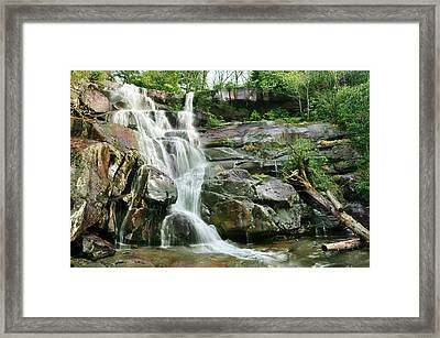 Ramsey Cascades Framed Print by Edwin Verin