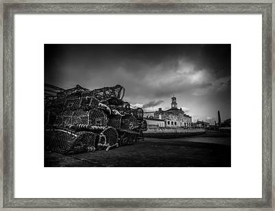 Ramsgate Lobster Pots  Framed Print