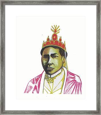 Ranavalona II Framed Print by Emmanuel Baliyanga