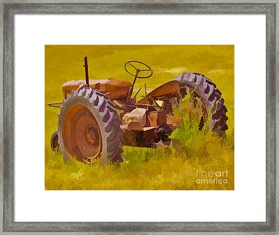 Ranch Hand Framed Print